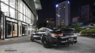 Vossen HC 3 Porsche 991 911 Tuning Turbo 4 190x107 The Dark Knight Returns   Porsche 911 jetzt auf Vossen Wheels