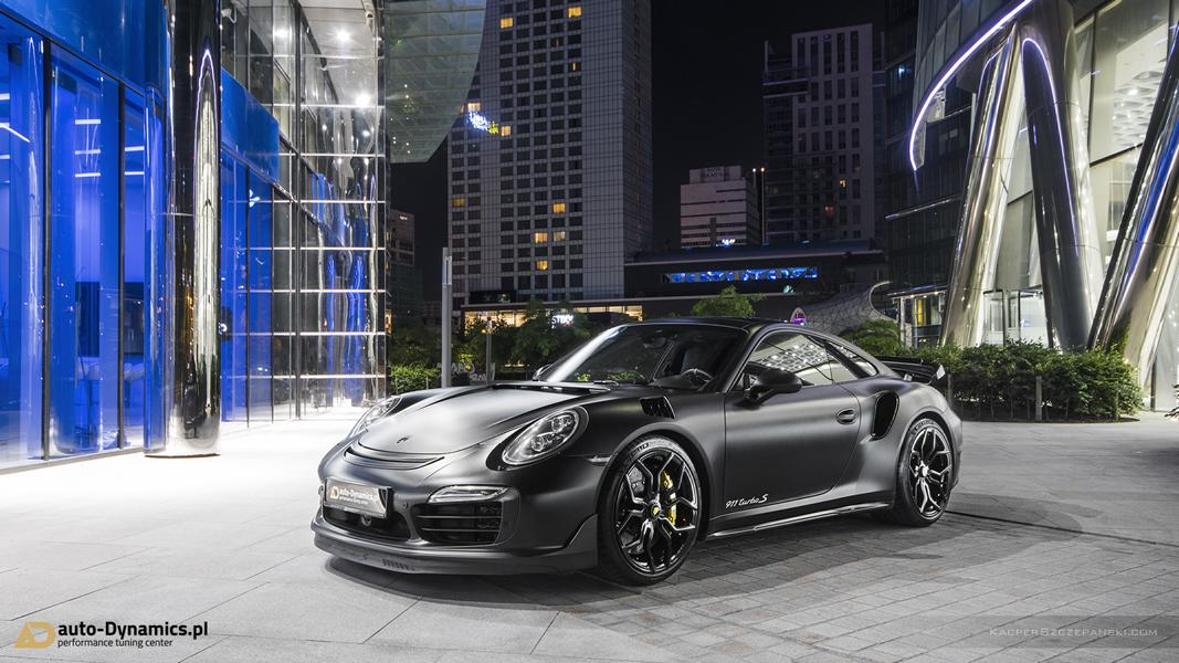 Vossen HC 3 Porsche 991 911 Tuning Turbo 6 The Dark Knight Returns   Porsche 911 jetzt auf Vossen Wheels