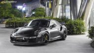Vossen HC 3 Porsche 991 911 Tuning Turbo 8 190x107 The Dark Knight Returns   Porsche 911 jetzt auf Vossen Wheels