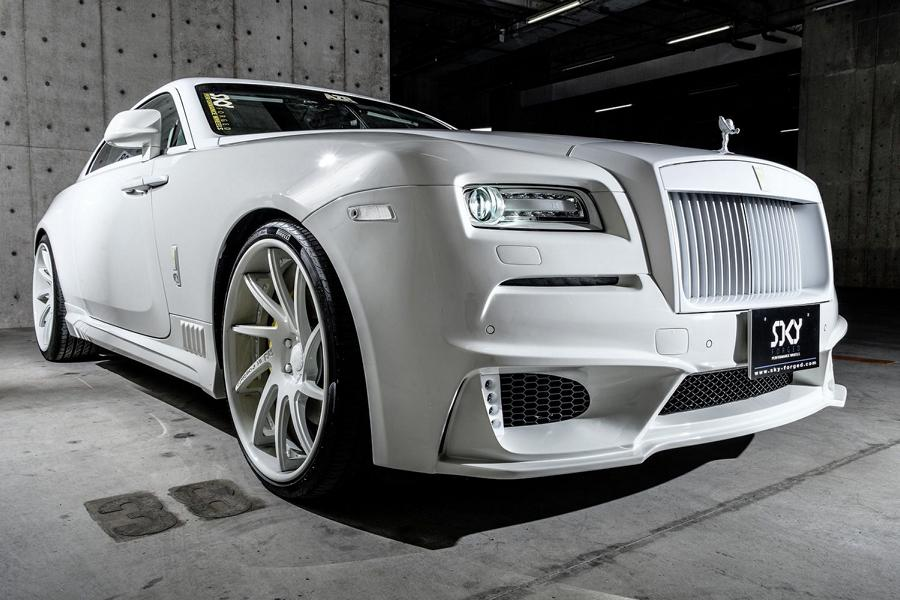 Wald Bodykit Forgiatos S217 Rolls Royce Wraith Tuning 26 Wald Bodykit & Forgiatos am Rolls Royce Wraith Coupe