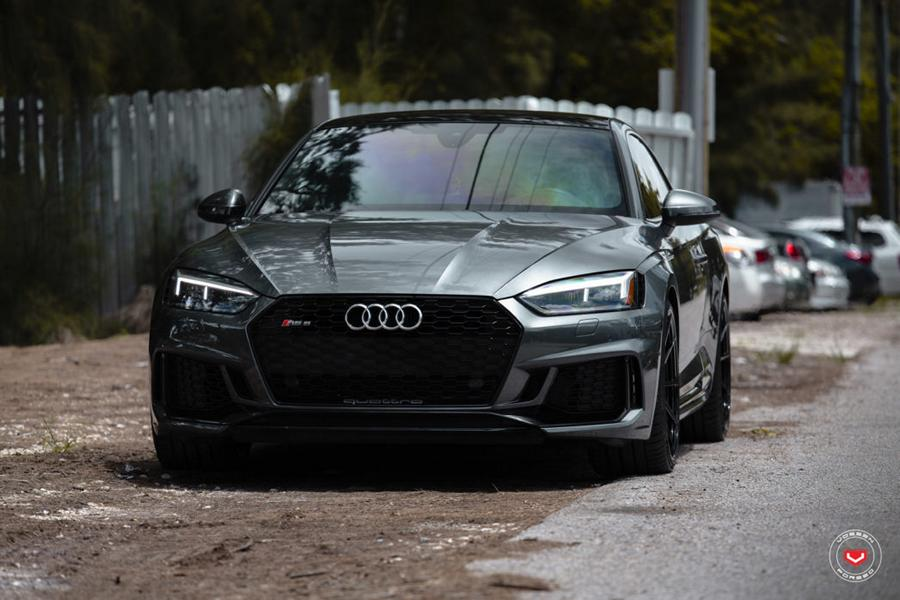 2018 Audi RS5 Coupe B9 Vossen Wheels Forged M X2 15 2018 Audi RS5 Coupe (B9) auf Vossen Forged M X2 Alus