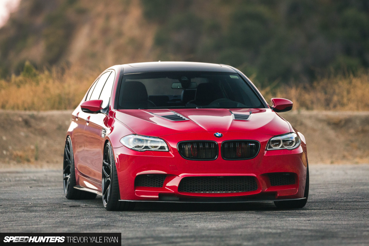 Daily Driver 700 Ps In The Bmw M5 F10 From Tuner Csf Radiators