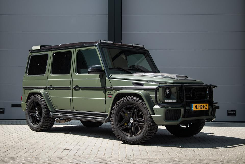 Absolute Motors Mercedes G63 AMG W463 1 710 PS & Army Look am Absolute Motors Mercedes G63 AMG