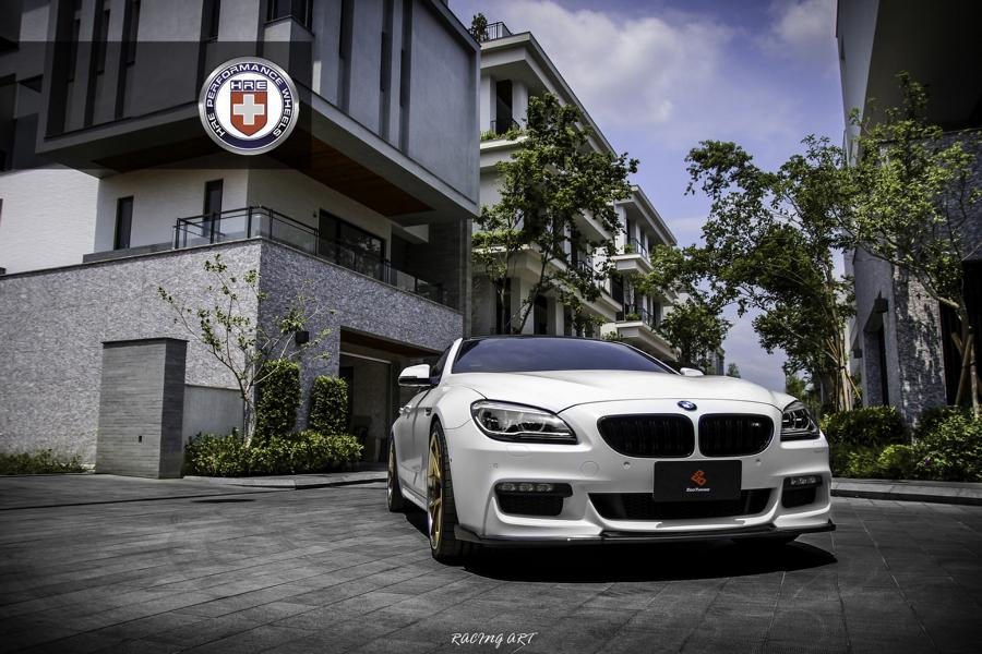 BMW 640i Gran Coupe F06 HRE S101 Tuning 1 Dezent verpackt: BMW 640i Gran Coupe auf HRE S101 Alus
