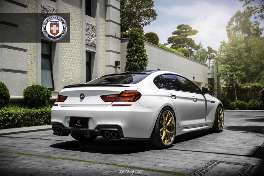 BMW 640i Gran Coupe F06 HRE S101 Tuning 5 Dezent verpackt: BMW 640i Gran Coupe auf HRE S101 Alus
