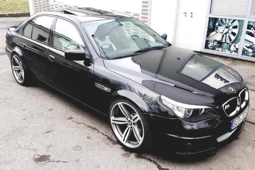 BMW E39 M5 E60 M5 Optik Warum nur? BMW E39 M5 Umbau mit E60 Front & Heck