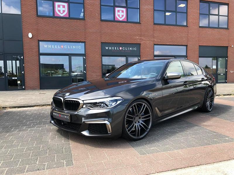 twin pack bmw m550i g30 on 21 inch hamann rims. Black Bedroom Furniture Sets. Home Design Ideas
