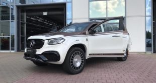 Carlex mercedes yachting edition 310x165 Luxus Pickup: Mercedes Benz X Klasse Yachting Edition