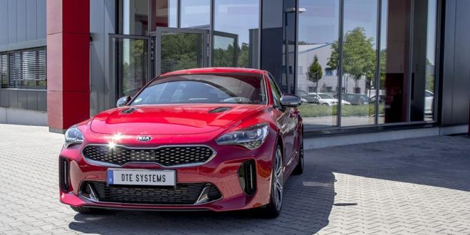 Strong - 420 PS & 624 NM in Kia Stinger from DTE Systems