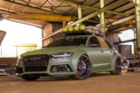 DIAVEL MK II Audi RS6 Widebody C7 6 155x103 DIAVEL MK II: Audi RS6 Widebody im Army Style by Race!