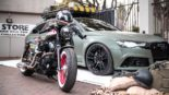 DIAVEL MK II Audi RS6 Widebody C7 Tuning ADV 15 155x87 DIAVEL MK II: Audi RS6 Widebody im Army Style by Race!