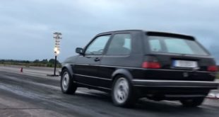 DSG AWD VW Golf Mk2 Boba Motoring 310x165 Video: Boba Motoring VW Golf MK2 DSG mit neuem Rekord