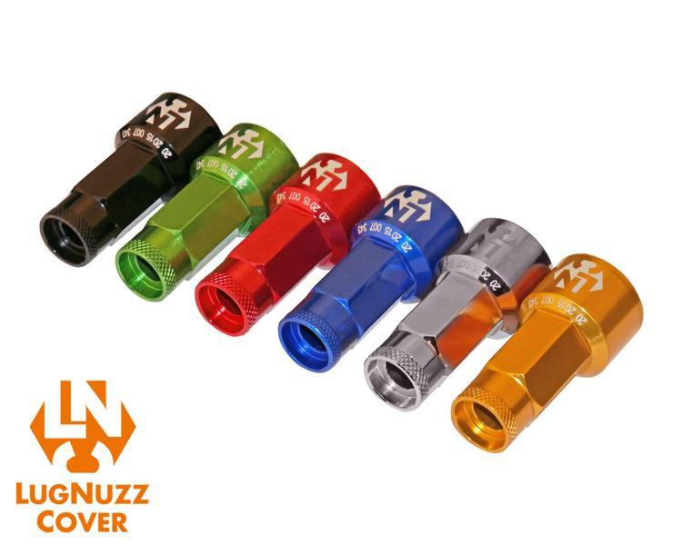 schick wheel nuts lug nuts lugnuzz cover for the car. Black Bedroom Furniture Sets. Home Design Ideas