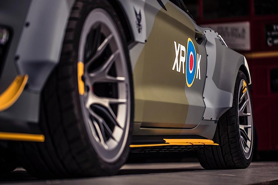 Ford Eagle Squadron Mustang GT 2018 Tuning Goodwood 10 Einzelstück in Goodwood: Ford Eagle Squadron Mustang GT