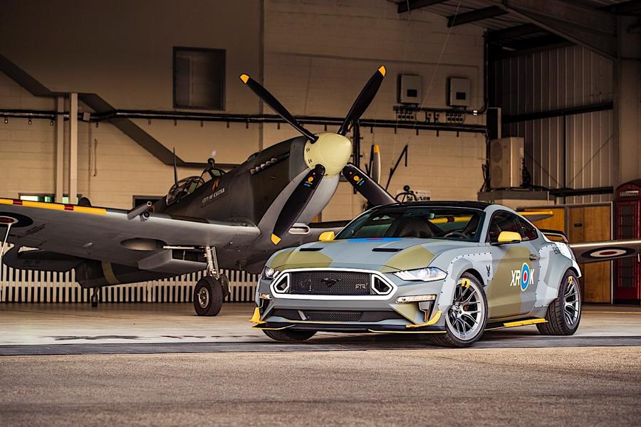 Ford Eagle Squadron Mustang GT 2018 Tuning Goodwood (12)