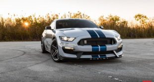 Ford Mustang Shelby GT350 Vossen VFS 5 Felgen Tuning 2 310x165 Brutal   Peicher Performance Widebody Ford Mustang Cabrio