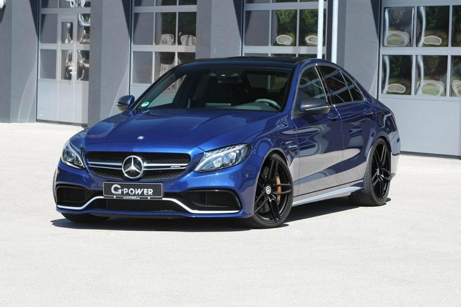 G Power Mercedes C63 AMG W205 Tuning 2018 2 600 PS & 800 NM im G Power Mercedes C63 AMG (W205)