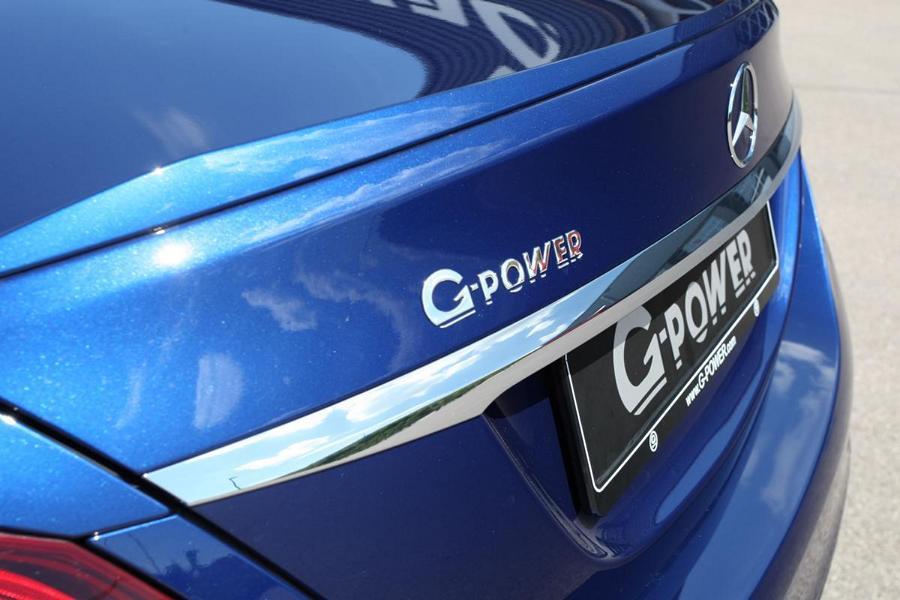 G Power Mercedes C63 AMG W205 Tuning 2018 5 600 PS & 800 NM im G Power Mercedes C63 AMG (W205)