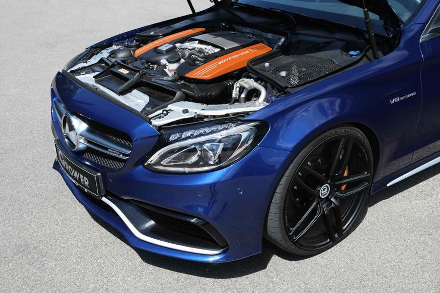 G Power Mercedes C63 AMG W205 Tuning 2018 6 600 PS & 800 NM im G Power Mercedes C63 AMG (W205)