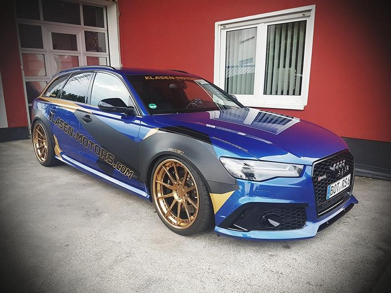 Klasen Motors Audi RS6 C7 Single Turbo Tuning 4 Klasen Motors Audi RS6 (C7) mit 900 PS und Single Turbo