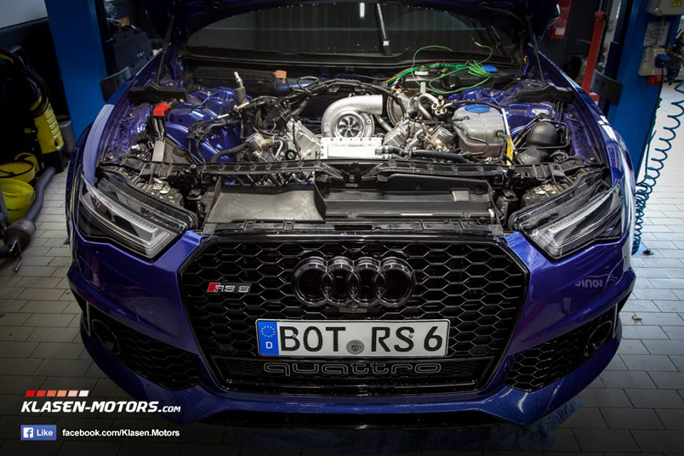Klasen Motors Audi RS6 C7 Single Turbo Tuning 5 Klasen Motors Audi RS6 (C7) mit 900 PS und Single Turbo