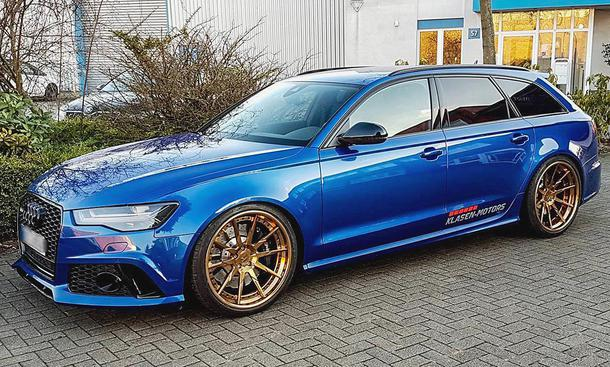 Klasen Motors Audi RS6 C7 Single-Turbo Tuning (8)