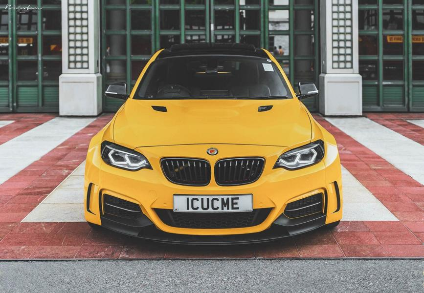 MANHART Performance MH2 Widebody F22 M235i Tuning 13 MANHART Performance MH2 Widebody auf Basis M235i