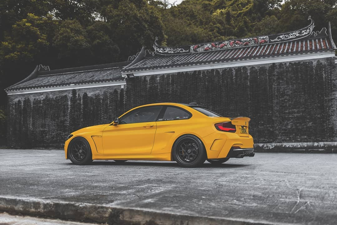 MANHART Performance MH2 Widebody F22 M235i Tuning 5 MANHART Performance MH2 Widebody auf Basis M235i
