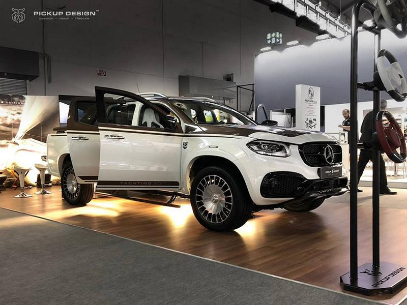Mercedes Benz X Klasse Yachting Edition Tuning 3 Luxus Pickup: Mercedes Benz X Klasse Yachting Edition