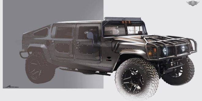 Vorschau: Mil-Spec Hummer H1 als Launch Edition 002