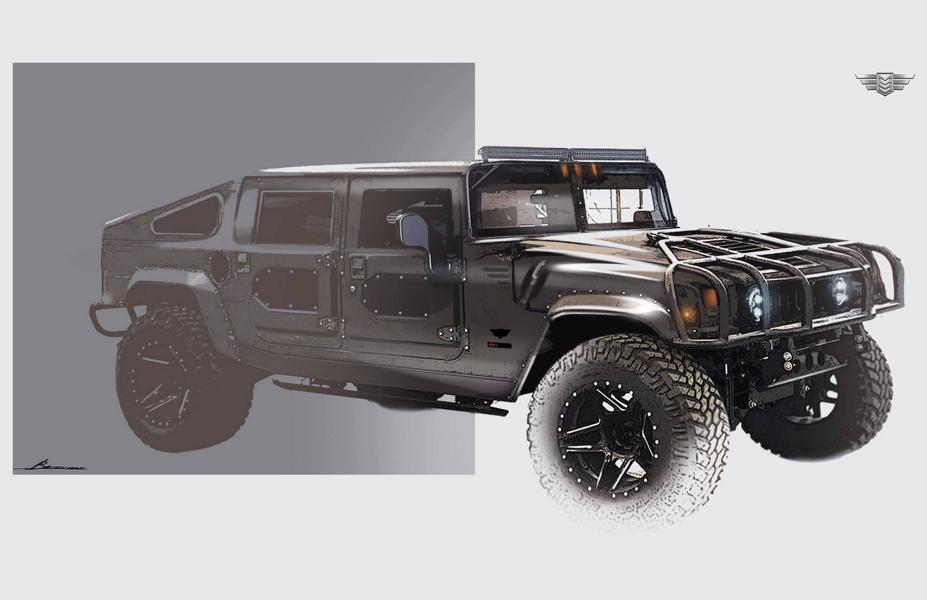 Mil Spec Hummer H1 Launch Edition 002 Tuning 2018 1 Vorschau: Mil Spec Hummer H1 als Launch Edition 002