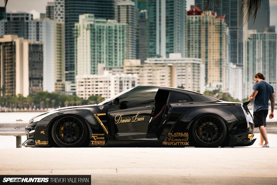 Nissan GT-R R35 Widebody Airride Platinum Design Wheels (10)