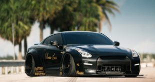Nissan GT R R35 Widebody Airride Platinum Design Wheels 11 310x165 Black Beast: Nissan GT R (R35) Widebody auf 21×13,5 Zöllern