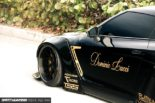 Nissan GT R R35 Widebody Airride Platinum Design Wheels 4 155x103 Black Beast: Nissan GT R (R35) Widebody auf 21×13,5 Zöllern