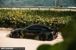 Nissan GT R R35 Widebody Airride Platinum Design Wheels 6 155x103 Black Beast: Nissan GT R (R35) Widebody auf 21×13,5 Zöllern