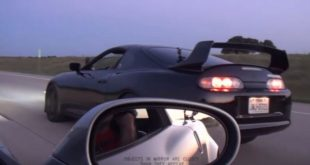 Nitrous Corvette Z06 900 PS Toyota Supra Tuning 310x165 Video: Ford Mustang Shelby GT500 vs. Chevrolet Camaro ZL1