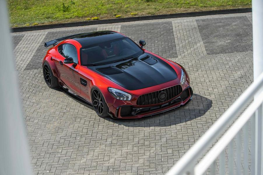 PD700GTR-Widebody-Kit am Mercedes AMG GT S (4)