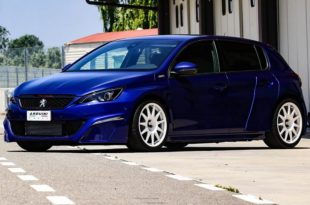 Peugeot 308 GTi widebody Arduini Massimo tuning 1 310x205 unique piece: Peugeot 308 GTi Widebody by Arduini Massimo