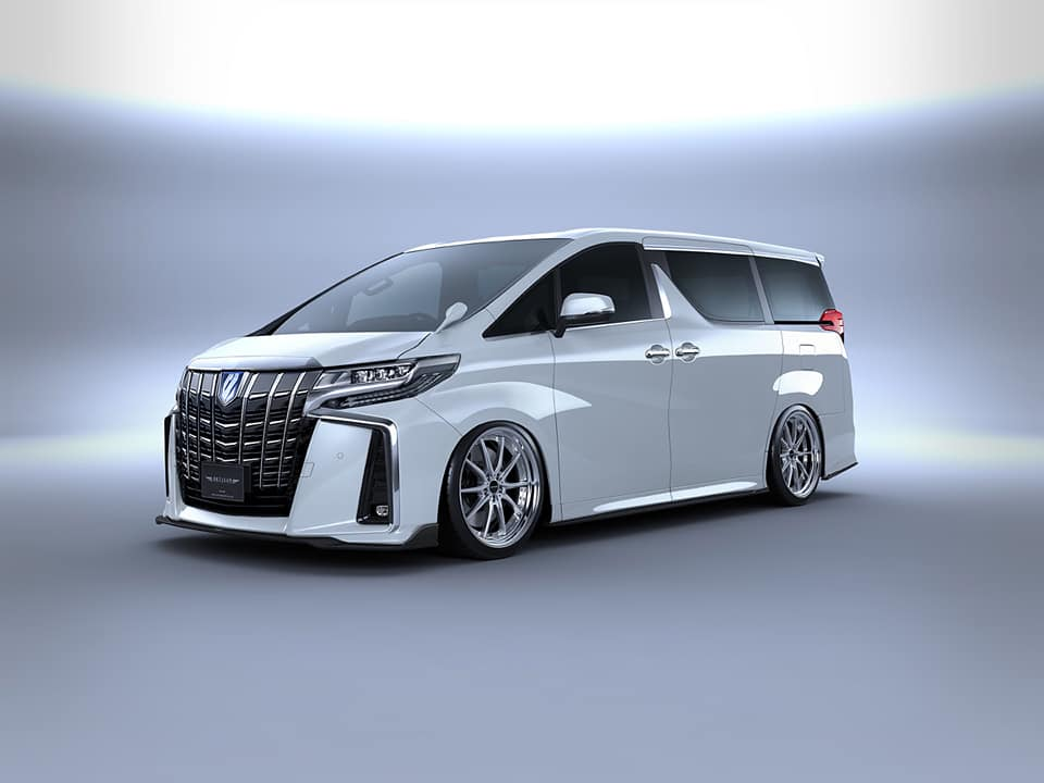 Toyota Alphard Black Label Bodykit Artisan Spirits Tuning 2018 4 Toyota Alphard mit Black Label Bodykit by Artisan Spirits