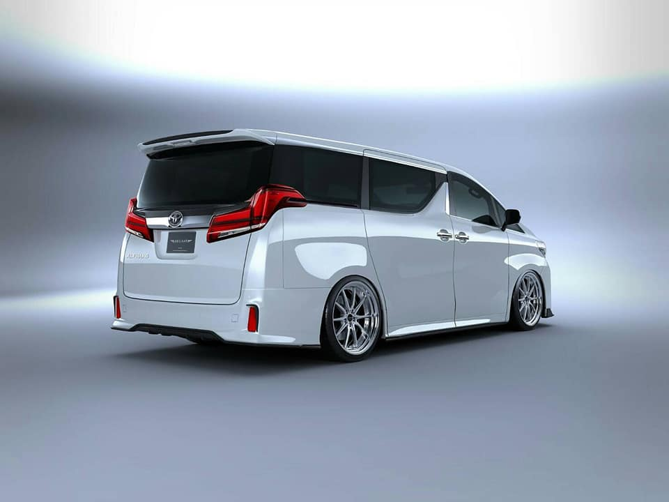 Toyota Alphard Black Label Bodykit Artisan Spirits Tuning 2018 5 Toyota Alphard mit Black Label Bodykit by Artisan Spirits