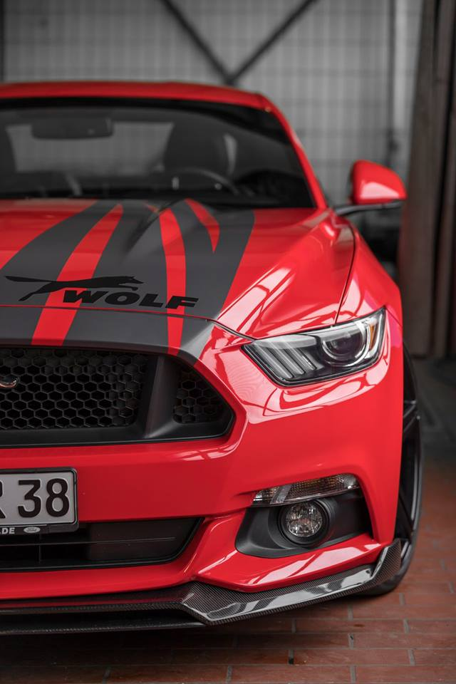 Wolf Racing Carbon Bodykit Ford Mustang GT Tuning 1 Wolf Racing Carbon Bodykit am Ford Mustang GT (Gen.6)