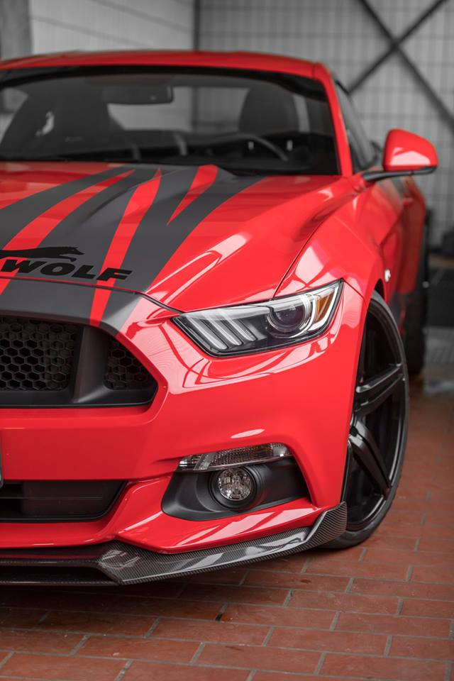Wolf Racing Carbon Bodykit Ford Mustang GT Tuning 6 Wolf Racing Carbon Bodykit am Ford Mustang GT (Gen.6)