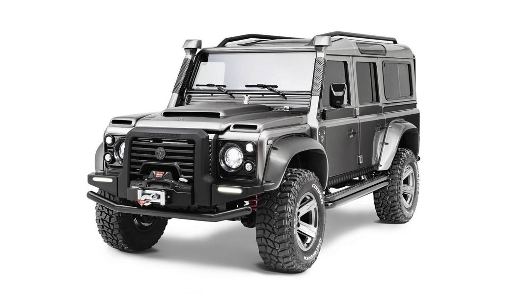 ares design Land rover defender tuning 16 Carbon & V8   ARES Design Land Rover Defender Umbau
