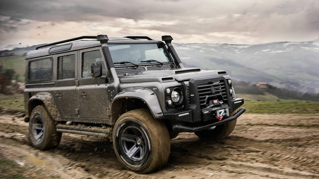 ares design Land rover defender tuning 25 Carbon & V8   ARES Design Land Rover Defender Umbau