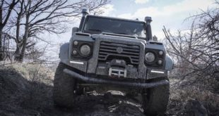 ares design Land rover defender tuning 5 310x165 Ares Design Limited Edition Model mit Kristallglas Parts!
