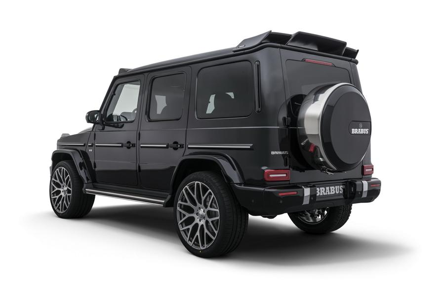 2018 Brabus Mercedes G W463 Tuning 2 500 PS & 23 Zöller am 2018 Brabus Mercedes G (W463)
