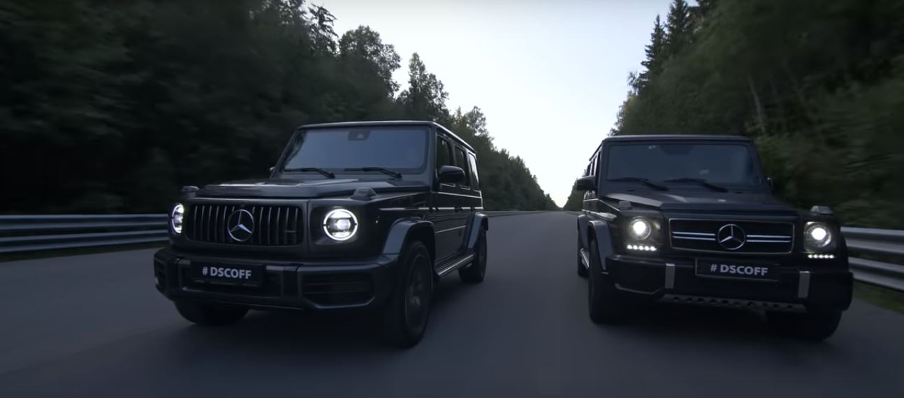2019 Mercedes G63 AMG vs. 2018 G63 AMG W463 1 Video: 2019 Mercedes G63 AMG vs. 2018 G63 AMG (W463)