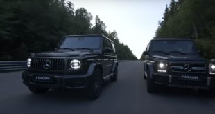 2019 Mercedes G63 AMG vs. 2018 G63 AMG W463 310x165 Video: SpeedKore 1967 Chevrolet Camaro mit 1.000 PS
