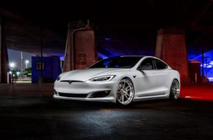 22 Inch ADV5.2 Диски Carbon Bodykit Tesla Model S 6 310x205 TOP: 22 дюймовые диски ADV5.2 и Bodykit на Tesla Model S