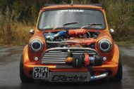 360 PS Austin Mini 16 Liter GT3076R Turbo Tuning 1 190x127 Irre: 360 PS Austin Mini   1,6 Liter und GT3076R Turbo